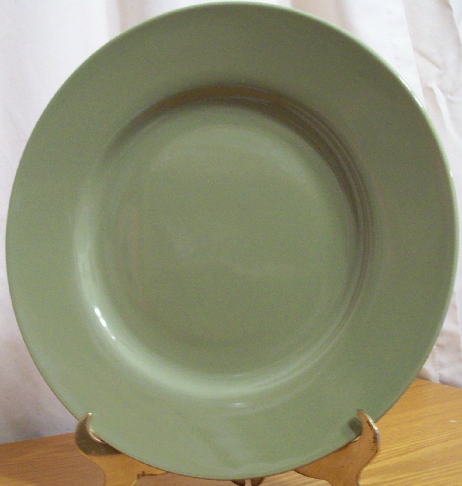 studio 33 olive green dinner plate and 31 similar items