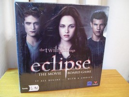 The Twilight Saga Eclipse The Movie Board Game Unopened - $19.79