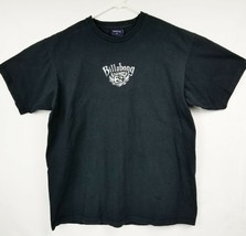 BILLABONG Spellout Black T-Shirt Size XL By Billabong Tee EUC - $11.29