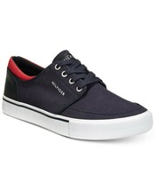 Men's Tommy Hilfiger Redd2 Lace-up Canvas Sneakers Navy Size US 10.5M B4HP - $35.00