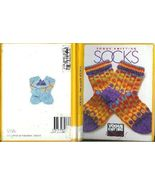 Socks Vogue Knitting on the Go Knit Stocking Pattern 1998 FE - $25.93