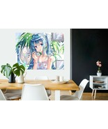 3D Lipstick Mirror C507 Japan Anime Wall Stickers Poster Wall Mural Deca... - $39.59+