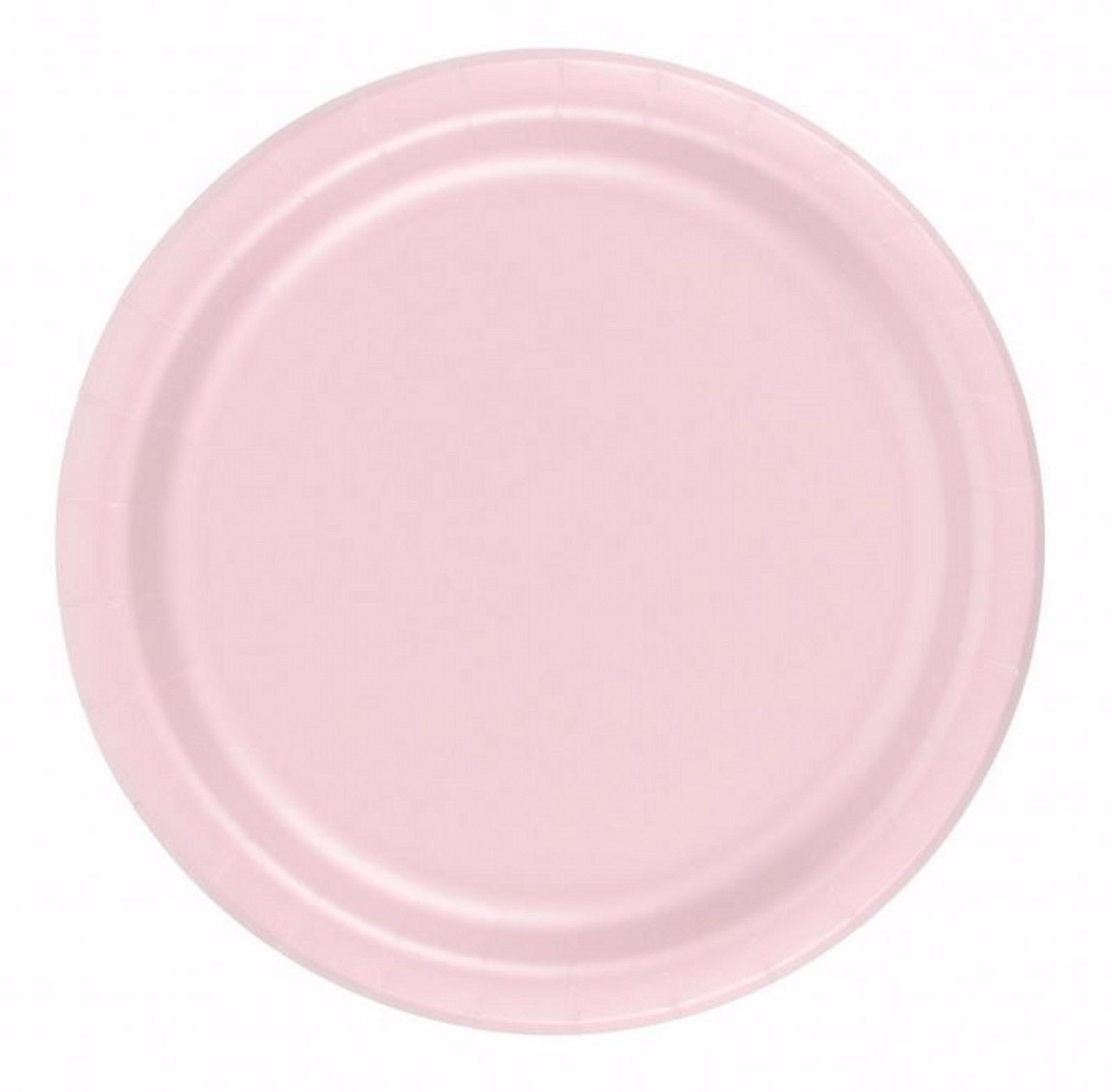 "24 plates 9"" paper dinner lunch plates wax coated"