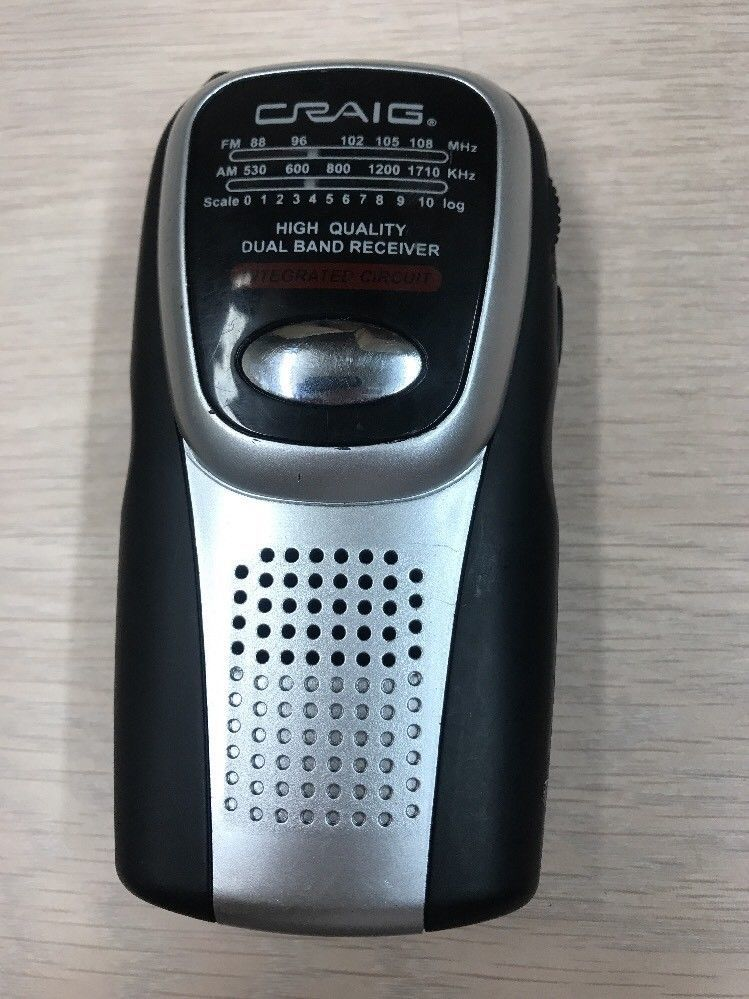 Craig Electronics CS2500 AM/FM Pocket Radio                               (G7)