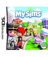 MySims  (Nintendo DS, 2007) - $7.79