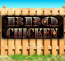 BBQ CHICKEN Advertising Vinyl Banner Flag Sign Many Sizes USA - $11.39+