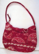 Vera Bradley Mesa Small Red Maggie Purse Handbag Clutch Retired - $37.11 CAD