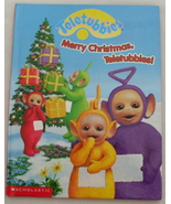Children Book Teletubbies Merry Christmas Teletubbies - $3.95