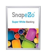 SnapeZo Silver Poster Frame 17x22 Inches, 1.25 Inch Aluminum Profile, Fr... - $42.57