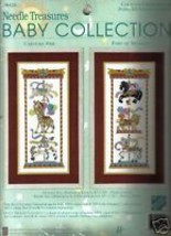 Counted Cross Stitch Kit Carousel Pair Baby Collection - $19.05