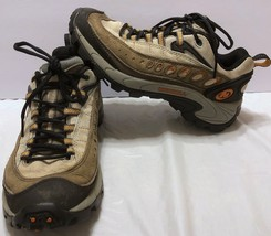 Merrell Pulse DK Grey Hiking Boots Size 7.5 Trail Hiker Hike Trial Outdoor - $44.64