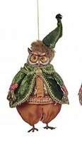 katherine's collection owl Ornament Spice 18-844760 Orange Pant - $29.69