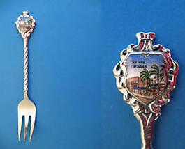 Surfers Paradise Queensland Australia Souvenir Collector Spoon Fork Collectible  - $5.95