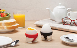 peleg design studio Model SUMO EGGS Egg Cups x 2 set Kids Gifts Home Kit... - $23.00