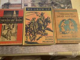 Vtg Antique Child's Early Reader School Books - $14.84