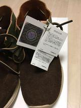 visvim HURON MOC-FOLK DK.BROWN US8 sneaker boots suede shoes  image 5