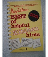 Vtg 1980 Mary Ellen's Best of Helpful Kitchen Hints by Mary E. Pinkham P... - $39.55