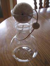 Pyrex 8010 Vintage Carafe Decanter Pitcher Cork Ball