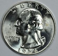 1956 P Washington uncirculated silver quarter BU - $13.50