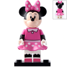 Minnie Mouse (Pink dress) Disney Mickey Mouse & Friends Lego Minifigures... - $2.99