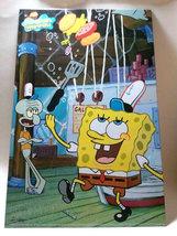 Spongebob Squarepants 15.75 x 10.25 Metal Wall Tin Artwork #2 * Nickelodeon - $4.88