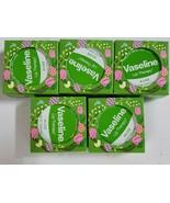 Lot of 5 Unilever Vaseline Aloe Lip Therapy Easter .6oz Balm Gloss Tin - $19.79