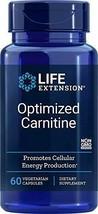 Life Extension Optimized Carnitine, 60 Vegetarian Capsules - $23.31
