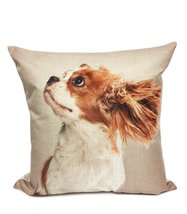 "Fennco Styles Puppy Collection Decorative Throw Pillow - 17""X17"" (Case+I... - $24.74"
