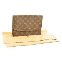 LOUIS VUITTON Monogram Pochette rabat 23 Clutch Bag M51940 LV Auth 8340 - $398.00