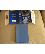Night Sins by Tami Hoag Bantam 1st Edition w full number line March 1995 NF - $8.99