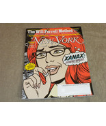 New York Magazine Xanax; Carole King; Will Ferrell; Johnny Ramone; 2012 VG+ - $9.99