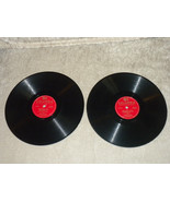 2 Sinatra 78 RPM LPs 37259 & 37256 Columbia Plays well, no skips Embrace... - $12.86