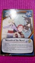Naruto Collectible Card Game: Shinobi of the Sand - $7.99