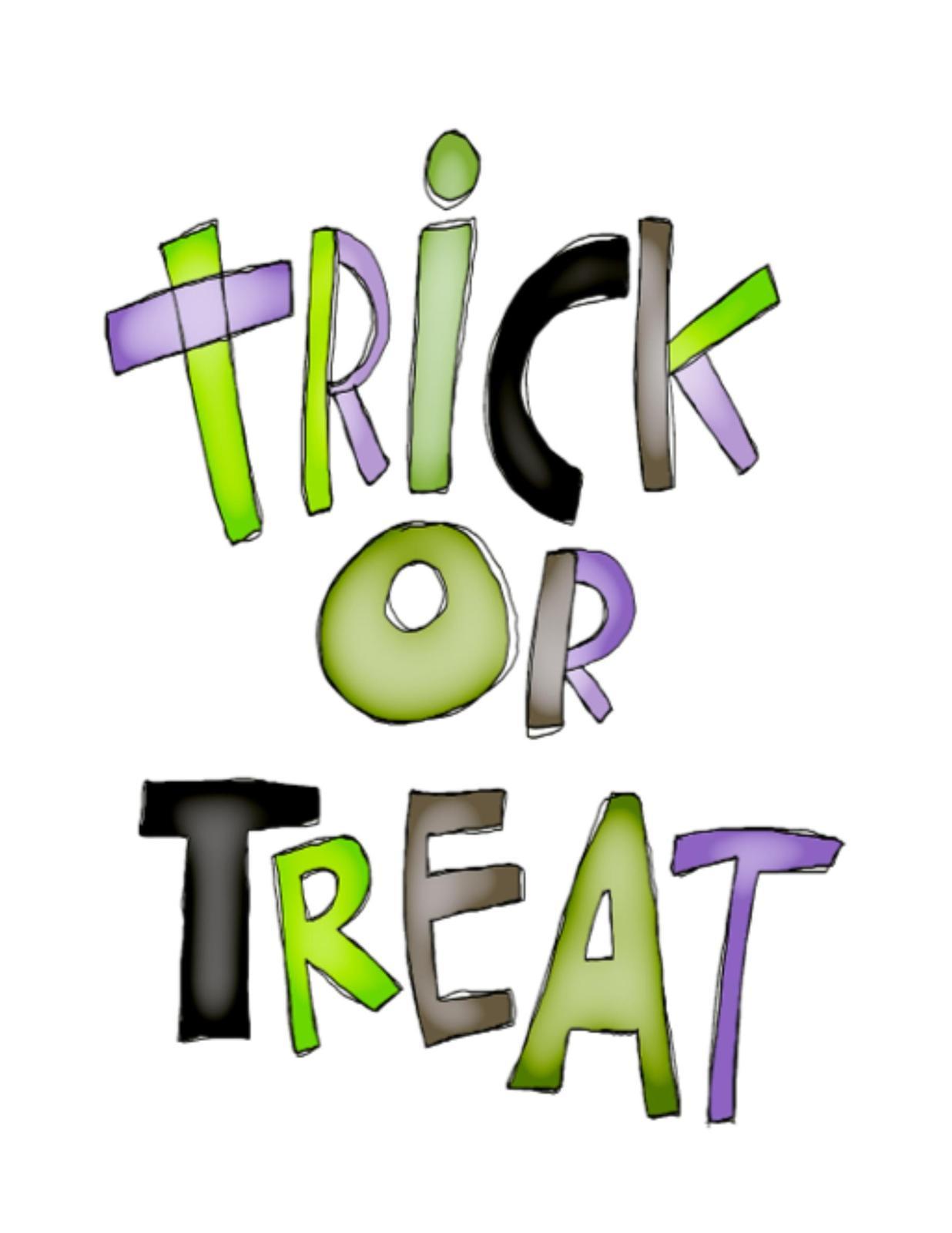 trick or treat 2 digital download clipart art clip digital trick or treat clip art black and white trick or treat clipart black and white