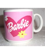 2001 BARBIE THE DOLL CHARACTER CERAMIC MUG - MATTEL - $19.80