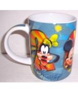 "2012 Disney Florida ""Mickey Mouse & Friends"" Extra Large Ceramic Mug By ... - $39.99"