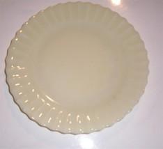 RARE Colorex SM Custard Milk Glass Swirl Design Side Plate - $13.37