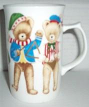 """Mikasa Bone China Extra Tall Fx052 """"Teddy Bear Band"""" Collectible Mug Japan - $39.95"""