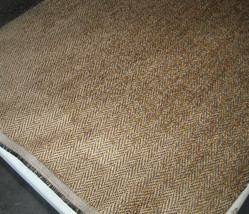 Gold Herringbone Chenille Upholstery Fabric  1 Yd - €17,78 EUR