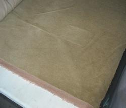 Gold Nylon Velvet Upholstery Fabric 1 Yd - $19.95
