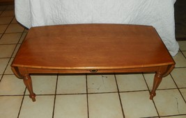 Light Cherry Ethan Allen Dropleaf Coffee Table  (BM) - $399.00