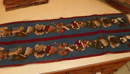 Christmas Bear Table Runner /  Front Door Runner - $24.95