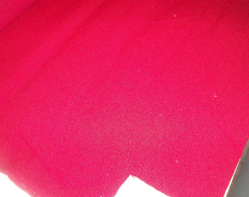 Bright Red Nylon Upholstery Fabric  1 Yard