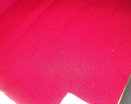 Bright Red Nylon Upholstery Fabric  1 Yard - $14.95