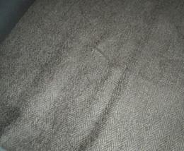 Beige Herringbone Chenille Upholstery Fabric  1 Yard - $14.95
