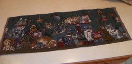 Christmas Cats Table Runner - $24.95
