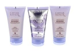 Alterna Caviar Repair Travel Trio: Instant Recovery Shampoo & Conditione... - $14.48