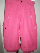 EXCELLENT - LITTLE GIRL'S PINK BURTON DRY RIDE VENTED SNOW PANTS SZ MED ... - $54.44