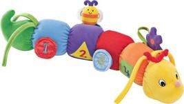 "Baby Gund Tinkle Crinkle Activity Toy Plush Caterpillar Lovey 17"" 58757 - $9.90"