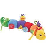 "Baby Gund Tinkle Crinkle Activity Toy Plush Caterpillar Lovey 17"" 58757 - $9.90"